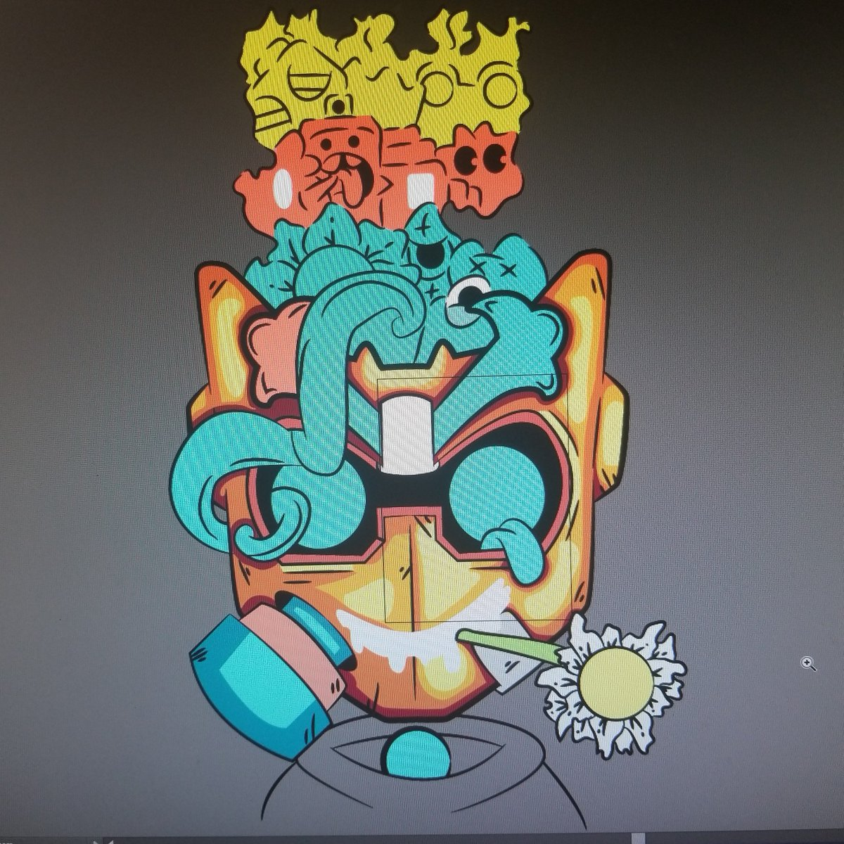 Yo thank you for watching the stream last night which I will continue tonight at 8pm of the villian mask   I'm re doing my store n see which prints I'll retired n which ones will be the new ones   http://Twitch.tv/jonnyboig   #digitalartist #digitaldesign #vector #vectorart #twitchpic.twitter.com/KclFqN1WGy