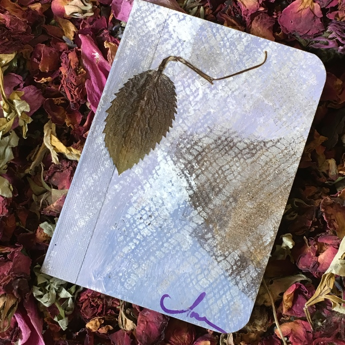 "You'll want this unique little writing journal, called ""Solitary,"" with you when you're alone with your thoughts. https://t.co/Fv5r2QS3QC   #solitude #writing #journal #zibbet #nature #healing #mixedmedia https://t.co/oW7I80EtE3"