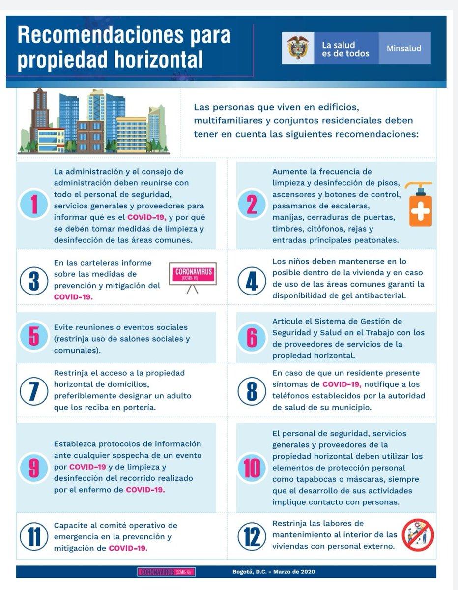 """FCS Sede Carabobo UC auf Twitter: """"Recomendaciones para propiedad ..."""