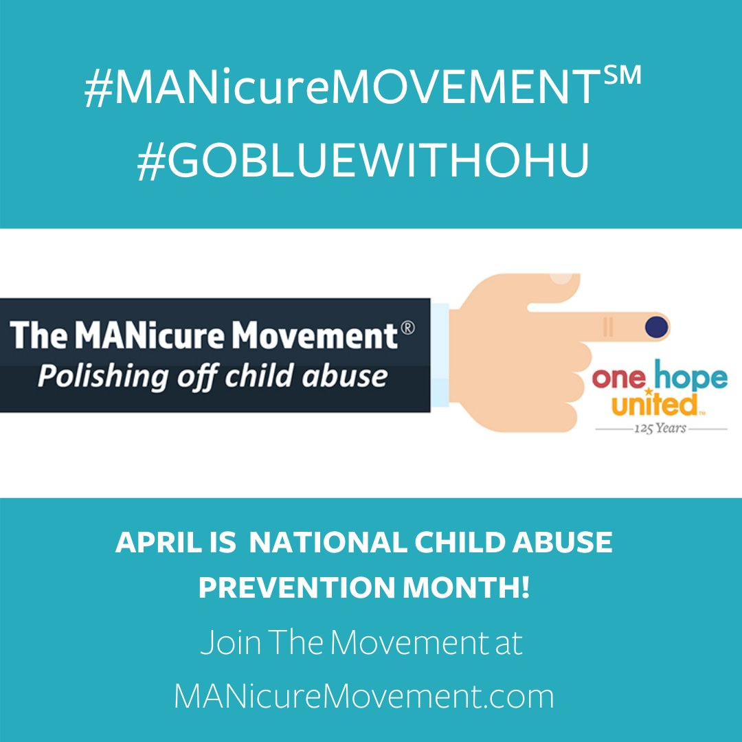 test Twitter Media - One Hope United is a digital partner with @embracefam in the  #MANicureMovement to polish off child abuse. One fingernail painted blue represents the 1 in 5 children who experience abuse before the age of 18.  Join the movement at https://t.co/GPGBswRk7m  #ChildAbusePrevention https://t.co/aXSxODZV0z