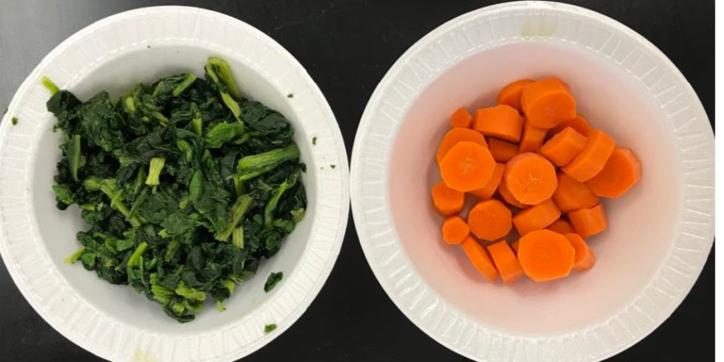 Looking to add more vegetables to your diet? Steaming veggies for about 6 minutes is quick and easy and will retain the nutrients in your vegetables.  #cookem #food #vegetables #steaming #quick #easy #nutrientretention #spinach #carrots #healthy