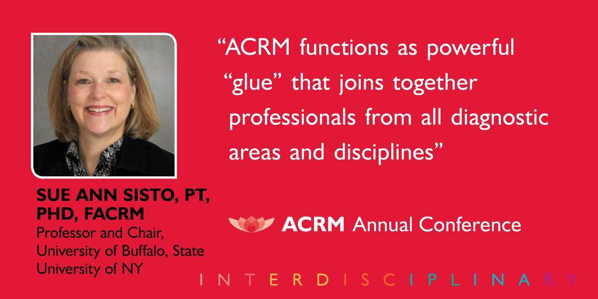 Registration for #ACRM2020 is now open with the lowest Early Bird rates of the year. For a short time, Early Birds receive up to 53% off registration. Register today and save! Register Now - https://acrm.org/meetings/2020-annual-conference/register/ … #rehabilitation #medicalconference #Atlanta #physiatrypic.twitter.com/jYVODGEKsL
