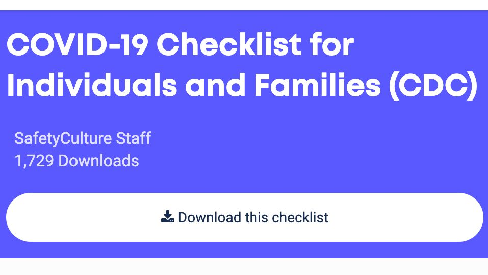 Create a process at home to #StopTheSpread and #flattenthecurve. Use this free checklist based on recommendations from @CDCgov to put a family plan in place. https://bit.ly/checklistforfamilies …  #covid19 #covid_19 #coronavirus #health #safety #riskmanagementpic.twitter.com/uh5JNd1vmZ