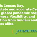 Image for the Tweet beginning: On #CensusDay & everyday, #PhilanthropyCA
