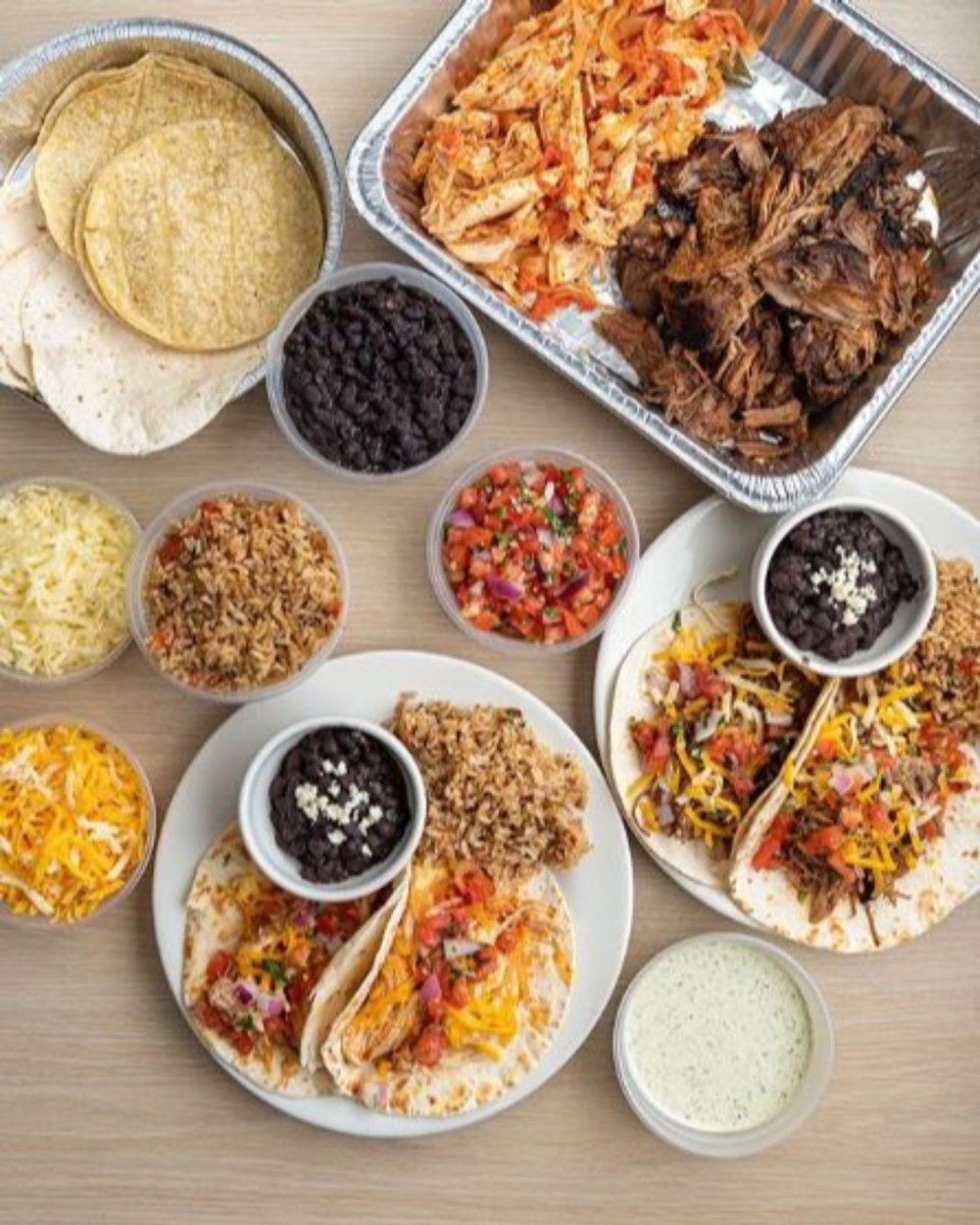 This is not April Fools...you can now get family packs to go from @shadygroverestaurant!   . . . Tinga Chicken or Pulled Pork Green Chile Rice Black Beans Pico Jack Cheese 12 Tortillas . Door Dash, Uber Eats, or give us a call and pickup! 512-474-9991 . . . #keepaustineatin pic.twitter.com/S1rg5RH5BG