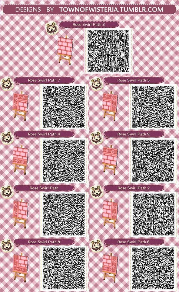 Animal Crossing Pink Wallpaper Qr Codes Wallpapershit