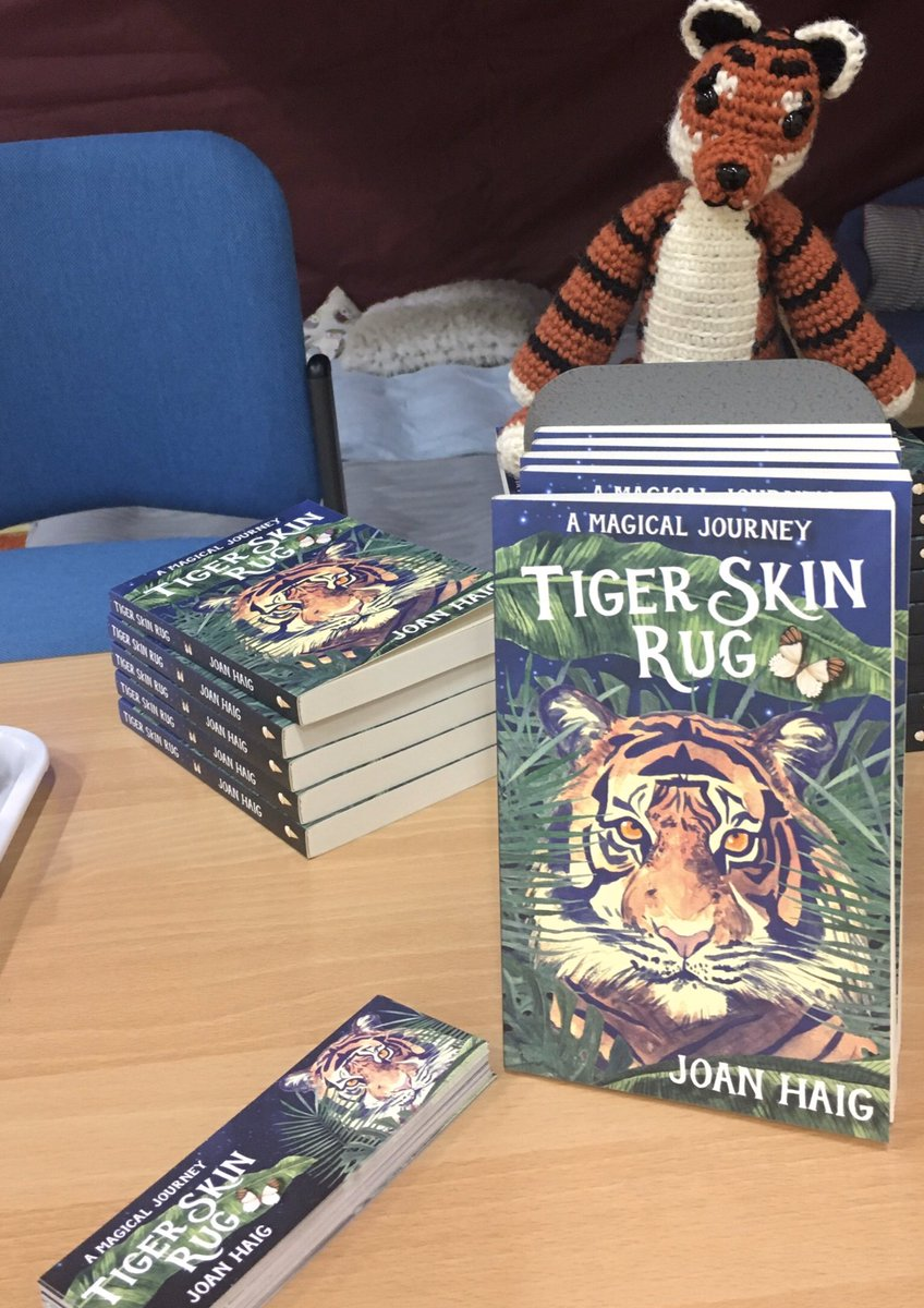 #BookGiveaway! Please shout   about #TigerSkinRug! First 3 names out my bday party hat on Friday will get a copy  #BookBoost #booklovers #kidsbooks #kidslit #mglit #mglitchat #WednesdayVibes #WednesdayMotivation #WritingLife pic.twitter.com/Q5CnU90E9p