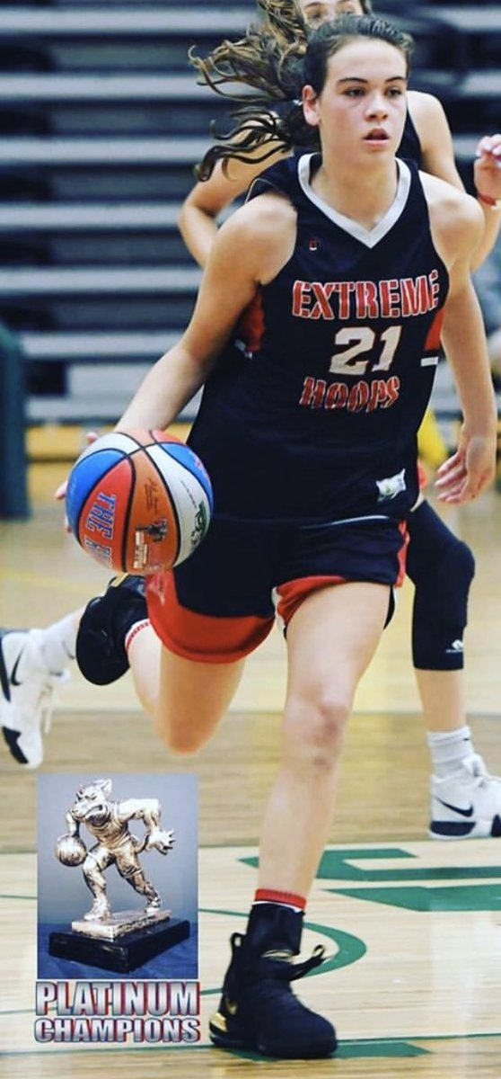 Congratulations to 2023 Eva Dechent for receiving a full athletic D1 scholarship offer from Coach Ang and the FDU knights! 🏀💪🏽🔴⚪️⚫️ https://t.co/tSccP5fWQ5