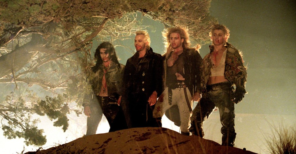 The hair. The special f/x. The COREYS.  ____ Watch the film that walked so #Twilight could RUN. It's the Freeform premiere of #LostBoys at midnight. pic.twitter.com/vSlz5BaiP7