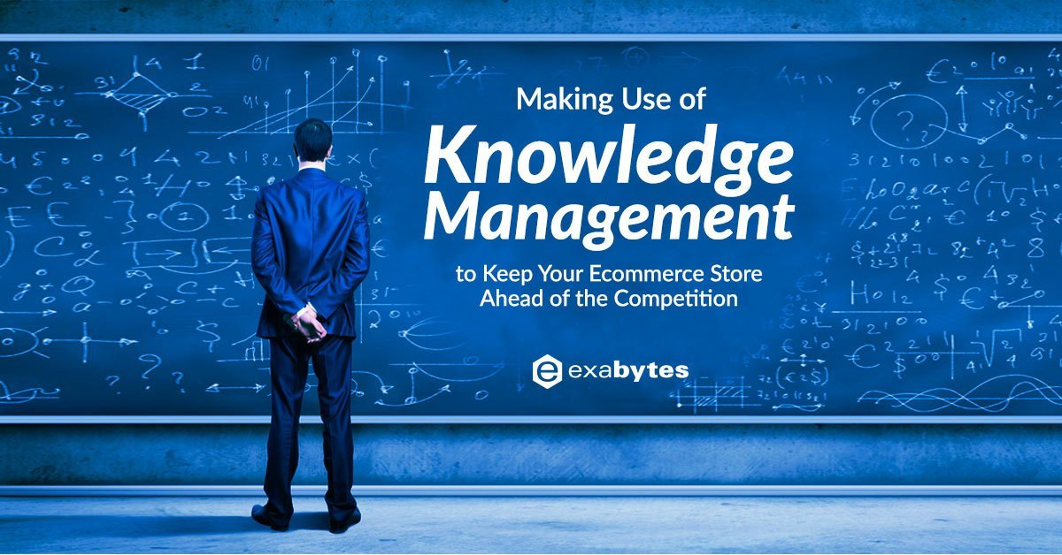 How Knowledge Management Can Help Your Ecommerce Business https://www.exabytes.com/blog/making-use-of-knowledge-management-to-keep-your-ecommerce-store-ahead-of-the-competition/ …pic.twitter.com/yi81IGEjU6