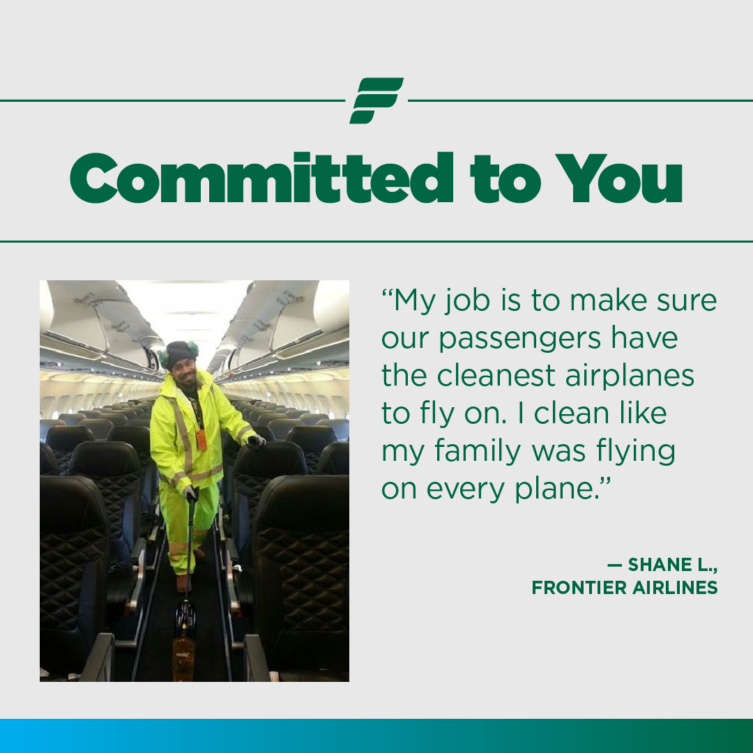 frontier airlines on twitter we are committed to you thanks to team members like shane who go the extra mile to ensure your well being on a frontier flight https t co gxdltl7nfe twitter