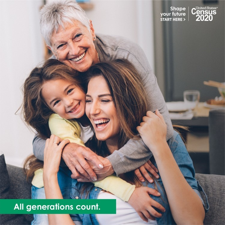 Kids, parents, grandparents—the @USCensusBureau wants to count them all. No matter how many generations live in your home, make sure you count everyone on your #2020Census form. Learn more about who to count at https://2020census.gov/who-to-count. #CensusDay2020pic.twitter.com/zNdpsXRR1g