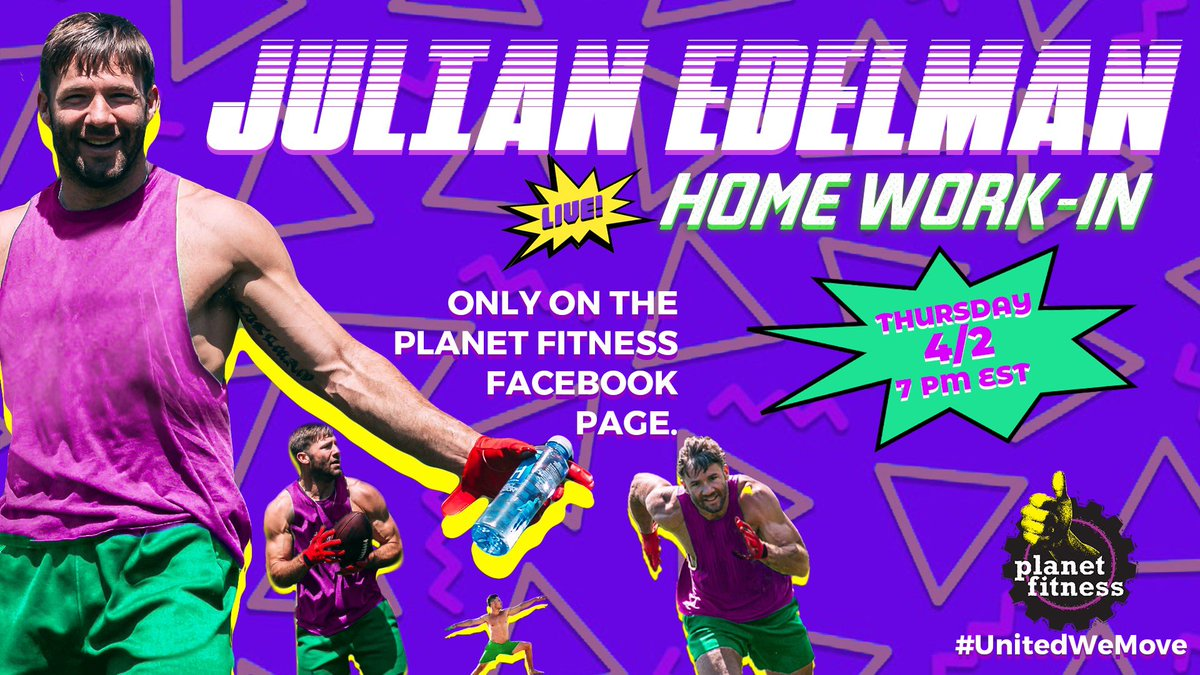 Everything may be on hold right now, but that doesn't mean your workout has to be 👀 @PlanetFitness and I are teaming up to give you a LIVE workout tomorrow night only at https://t.co/5MDdn07ntX #UnitedWeMove #Ad https://t.co/rCIY4Ya9Qm