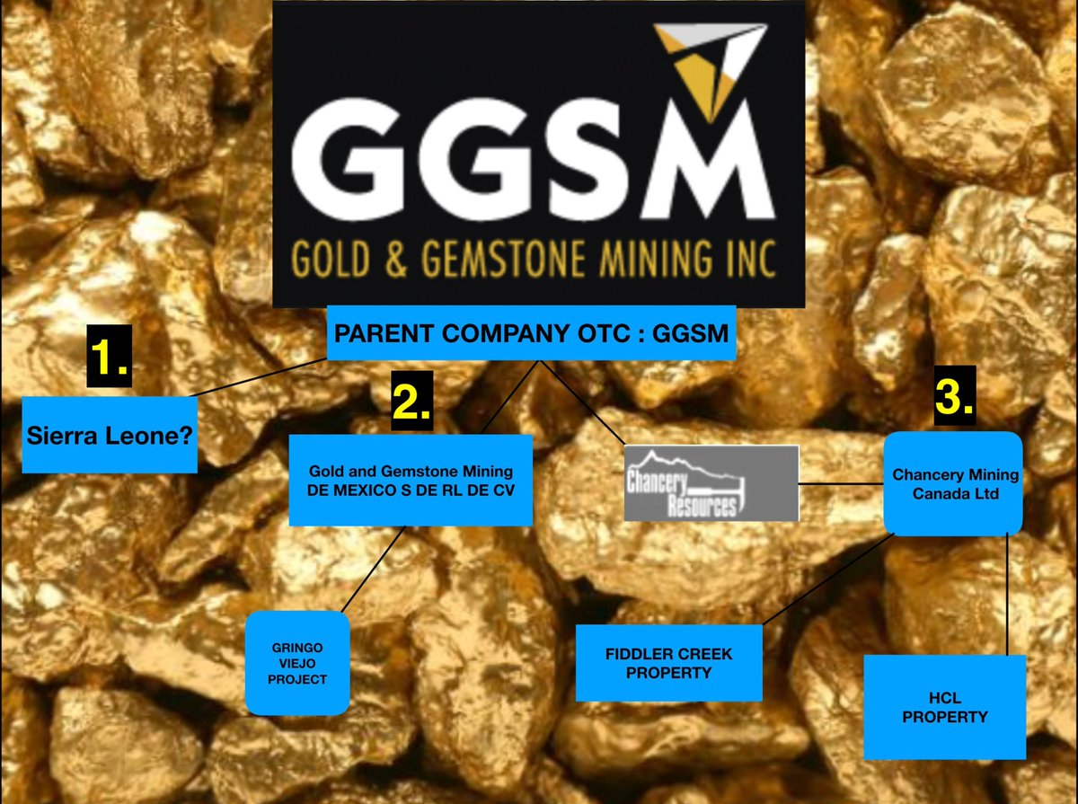 **RESEARCH**  $GGSM : Whew! Not easy finding #Africa  #Mining  #Concessions  hehe...But I believe I found a clear trail.   Starting from the beginning.   We know with Proof/Confirmation Both #Mexico  with Gringo Viejo and #Canada  with Chancery are VERY MUCH ALIVE and ACTIVE...NEXT.  https://twitter.com/SUNNYLAND24/status/1245493346782470144  …