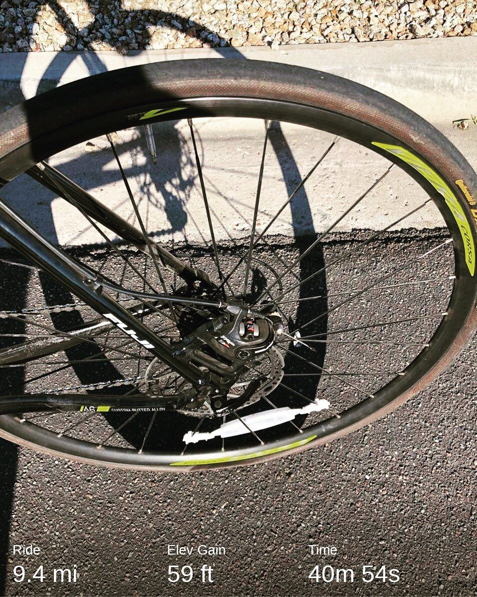 A flat tire is not the way I wanted to start off the month. #teamnuun #hshive #flattire #cycling #fitnessmotivation #fitnessjourney #tritraining<br>http://pic.twitter.com/cFmzeseXfq
