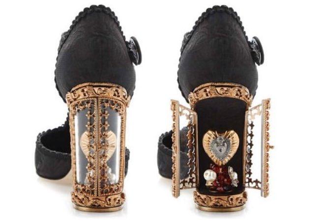 Dolce & Gabbana Window Pump 可愛い❤︎