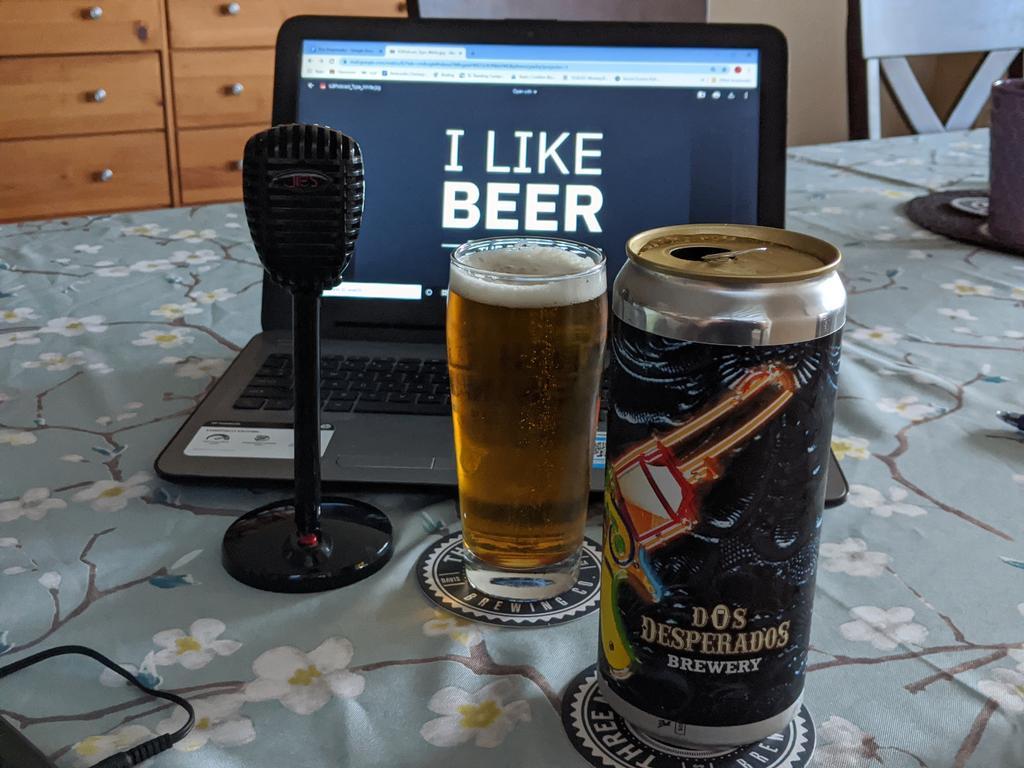 Had a great time speaking with Hayden @dosdesperados brewing in San Marcos, CA. Episode to drop Monday. #sdbeer #BEER #beers #beeroclock #beerlover #beernerd #indiebeer #craftbeer #craftbeerhour #craftbeerlover #drinklocal #drinkcraftbeer #beerpodcastpic.twitter.com/vSt1sjbtnL