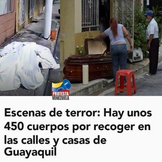 Lamentable, en guayaquil no hay como trasladar a los muertos, y los dejan en las calles.  #Ecuador #Guayaquil #Noticias #Notiexpresscolor #sucesos #coronaviruspic.twitter.com/NtjpM04f45