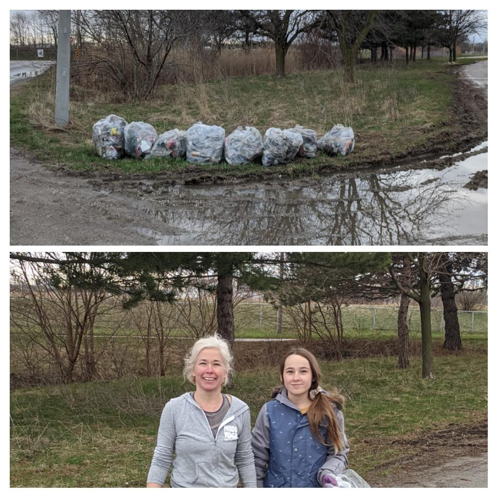 Hey @drewdilkens  saw this #YQGStandsStrong  mother/daughter duo back at it today on Grand Marais East @ Plymouth picking up #litter  and #garbage  to help keep @CityWindsorON  clean!#CommunityChampions  @ewswa  #trashtag  #environment  #StopLittering  #EarthDay   https://twitter.com/TheWindsorStar/status/1243006252554178560  …
