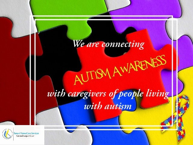 April is #AutismAwarenessMonth and @HomecareSuruvi is running its #SuruviOnlineConnectionCafe. DM to Connect   Support   Grow with other caregivers. It's valuable #caregivinggoals #selfcarepic.twitter.com/S4qbQBktbn
