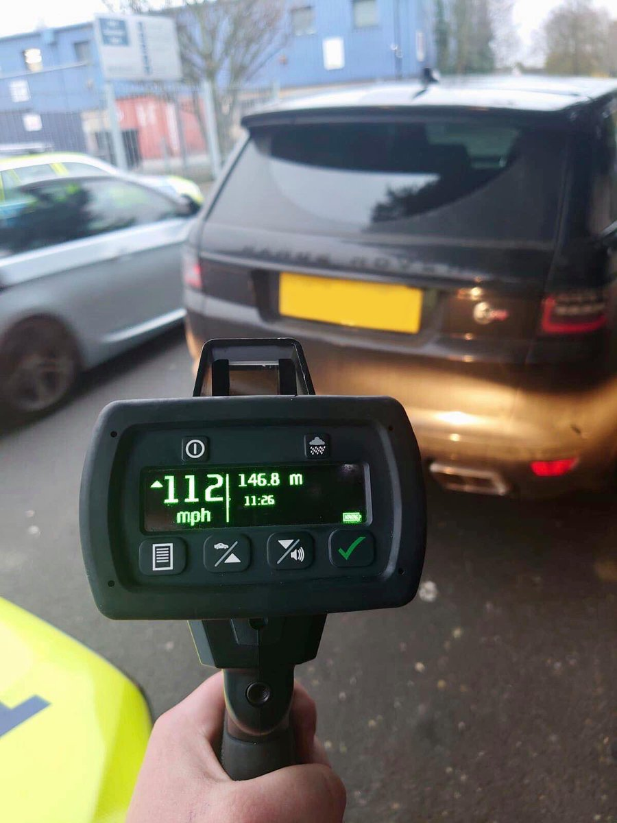 112mph in 50 zone on #A13 #London. No insurance. A provisional licence holder; revoked until test passed. Had to walk home, though better that than loved ones having a visit by #Traffic  delivering news of a fatal crash.  Please drive lawfully, stay safe & keep a clean licence.pic.twitter.com/9ieUZYusWd