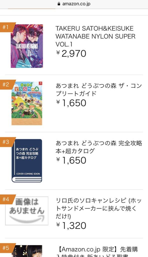 リロ氏のレシピ本Amazon 本の売れ筋ランキング現在4位です!