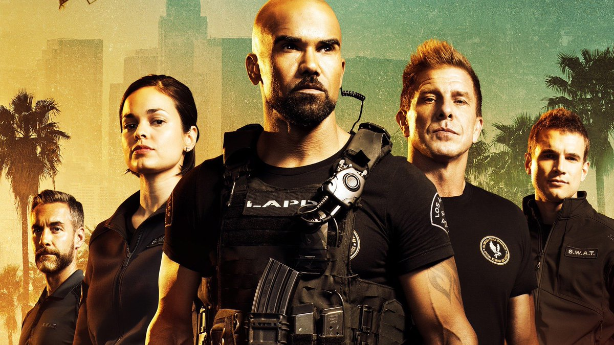 Thats right, warming up for next weeks episode! Don't forget to join your #SWAFAMILY! Boom!! #SWAT #REWATCH