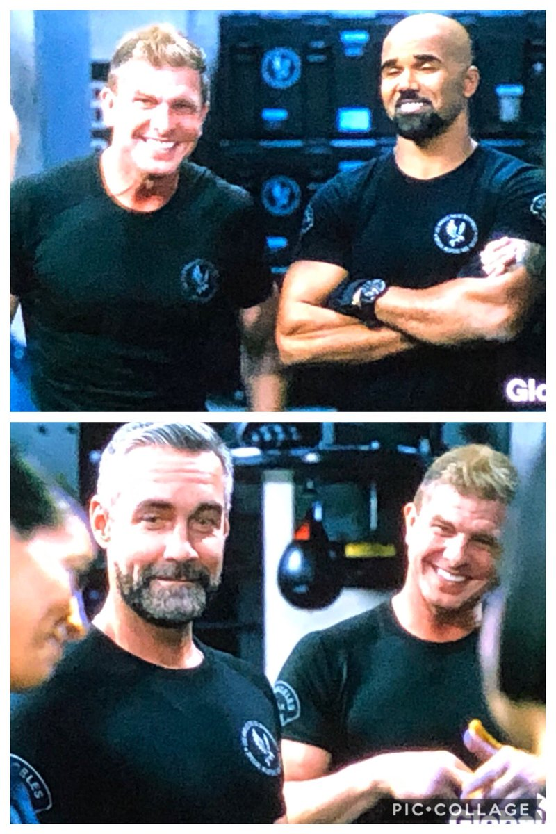 #SWAT although it was a rerun, it was so nice seeing #luca out in the field where he belongs.. missed that 💜💜💜 @swatcbs @SWATWritersRoom @ARThomasTV @TheKennyJohnson @shemarmoore @jayharrington3 love these faces! #renewSWAT @CBS