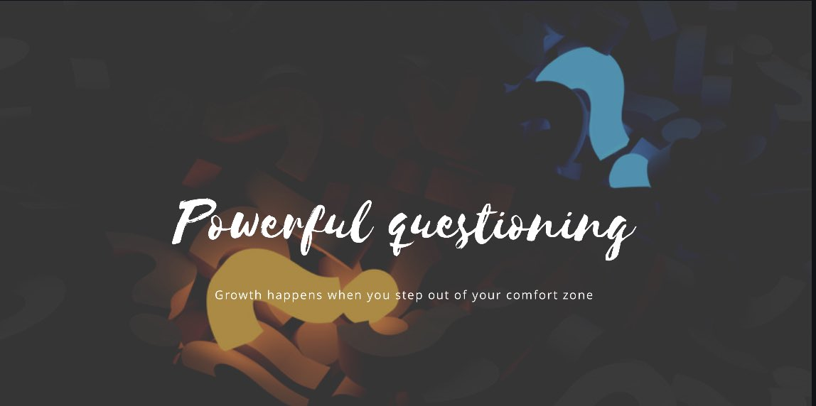 The coaching superpowers are the questions that brings light to the clients' blind spots.   #coaching #BusinessGrowth #covid19impactkepic.twitter.com/WIf4z6ATW8