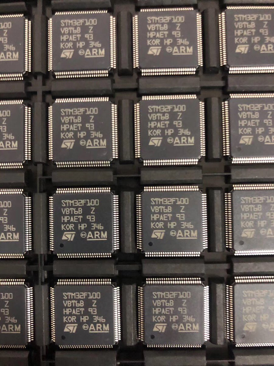test Twitter Media - STM32F100VBT6B LQFP 12K PCS Ready to ship 😘✈️and we can buy excess stock parts .My Email: 13927462033@163.com #Excessinventory #Excessstock #Stocklist #Excesslist #stockparts #stockpart #Excessparts #Excesspart #supplychain #Counterlogistics #Texas https://t.co/8SMSQ1UKFl