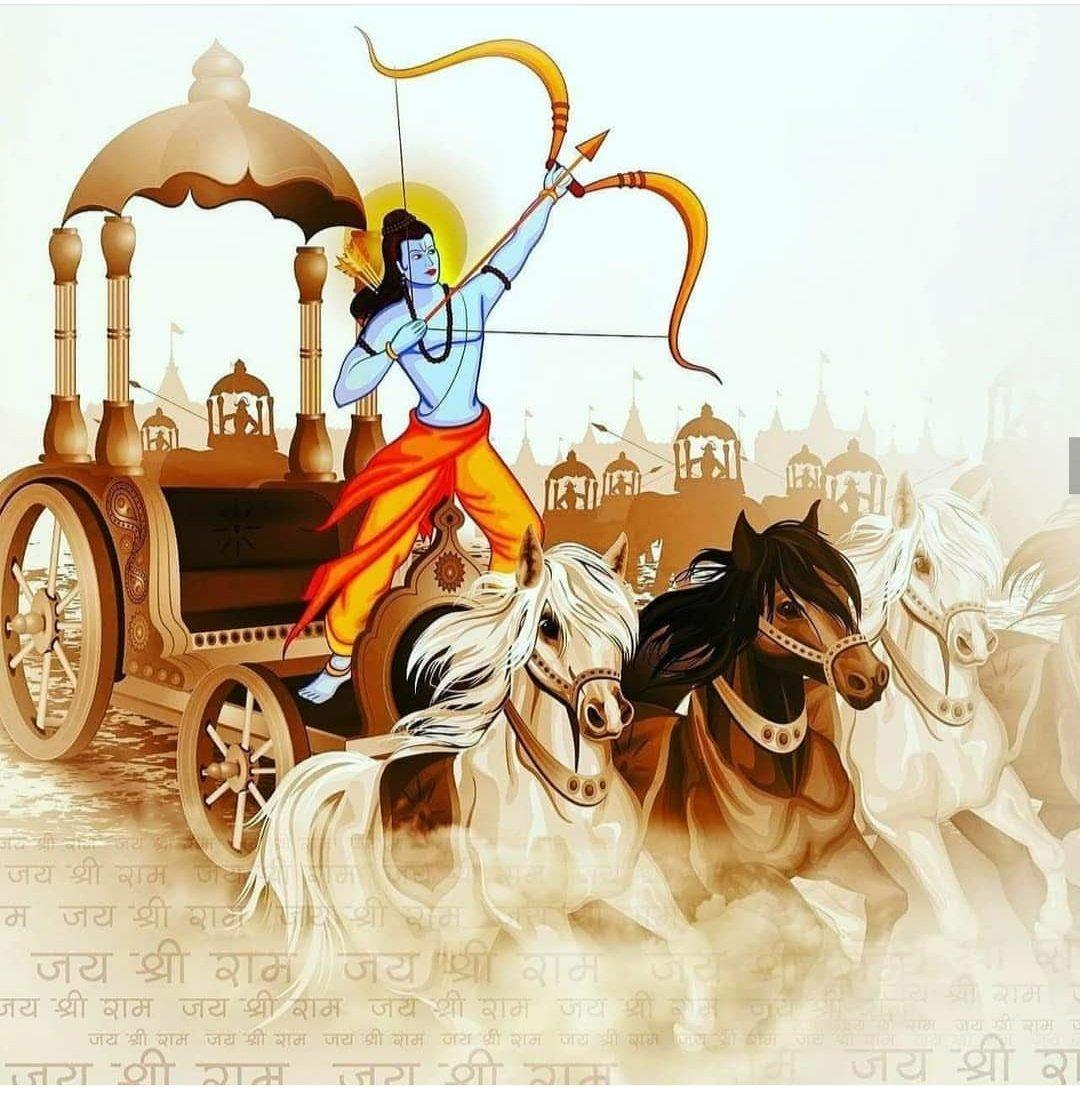 He will Defend Dharma  He will define Dharma  He will protect us  The keeper of Righteous Vows  #ShriRam  ರಾಮಾ! ಮತ್ತೊಮ್ಮೆ ಮಗುವಾಗಿ ಬಾ! ಜಗದ ನಗುವಾಗಿ ಬಾ! #ಪುರುಷೋತ್ತಮ  #RamNavamipic.twitter.com/Fm14TOih5K