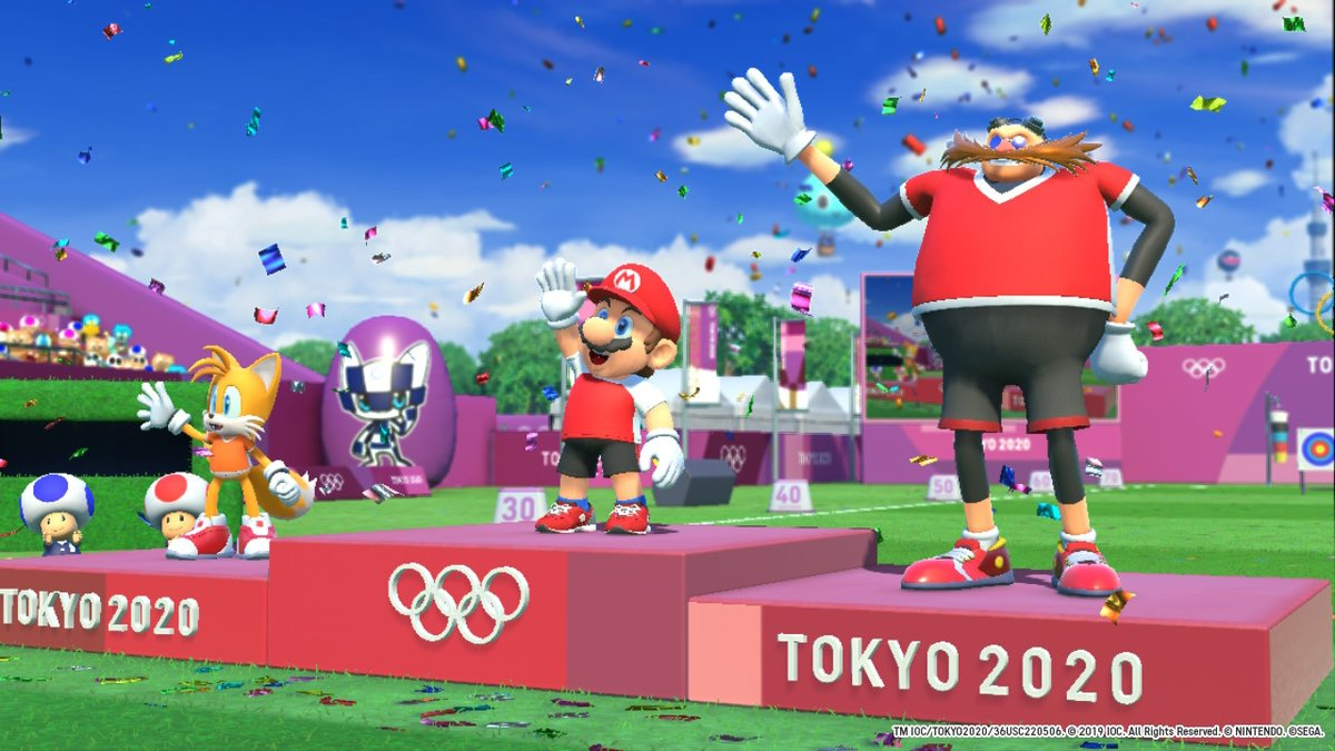 #Play2020  #Tokyo2020 #OfficialVideoGame #MarioandSonic #NintendoSwitchpic.twitter.com/8vNw0Q7Htb