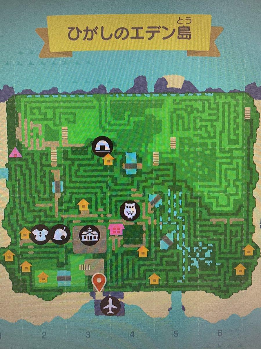 そういえば、動物の森島を大迷宮計画、完成しました宝探し、鬼ごっこ、隠れんぼ、色んな遊び方考えてるので、誰か遊びましょう