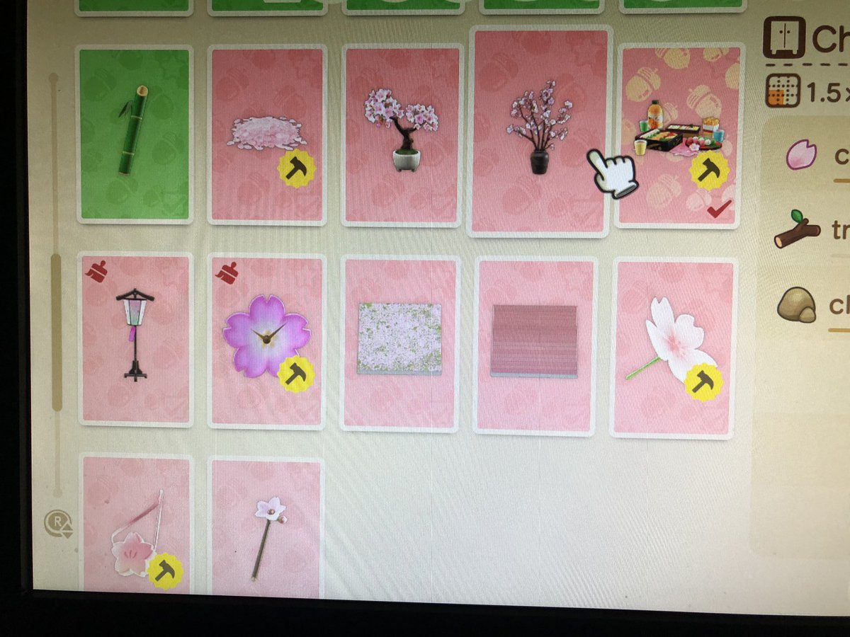 Animal Crossing New Horizons Cherry Blossom Trees Wall Price Acnh Items Buy Sell Prices Akrpg Com