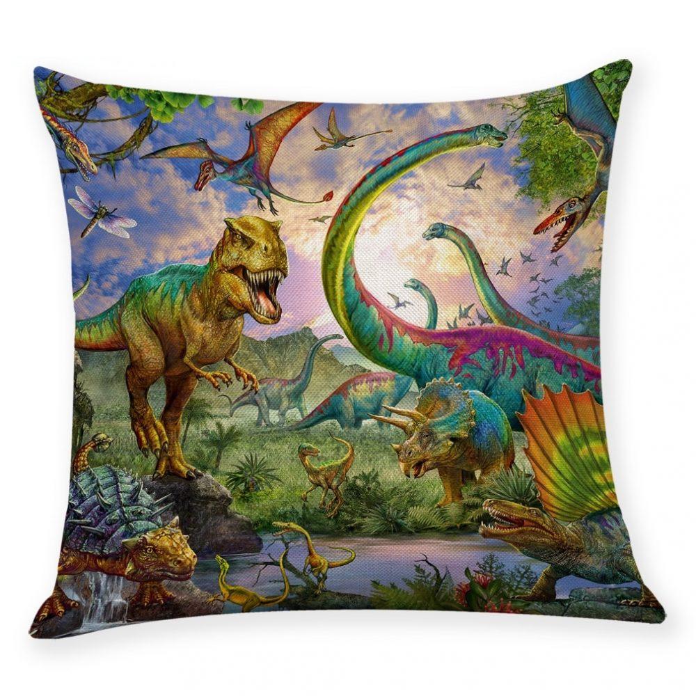 #dress #tbt Colorful Dinosaur Linen Pillow Case (9 prints) pic.twitter.com/pPdcMpR5Bu