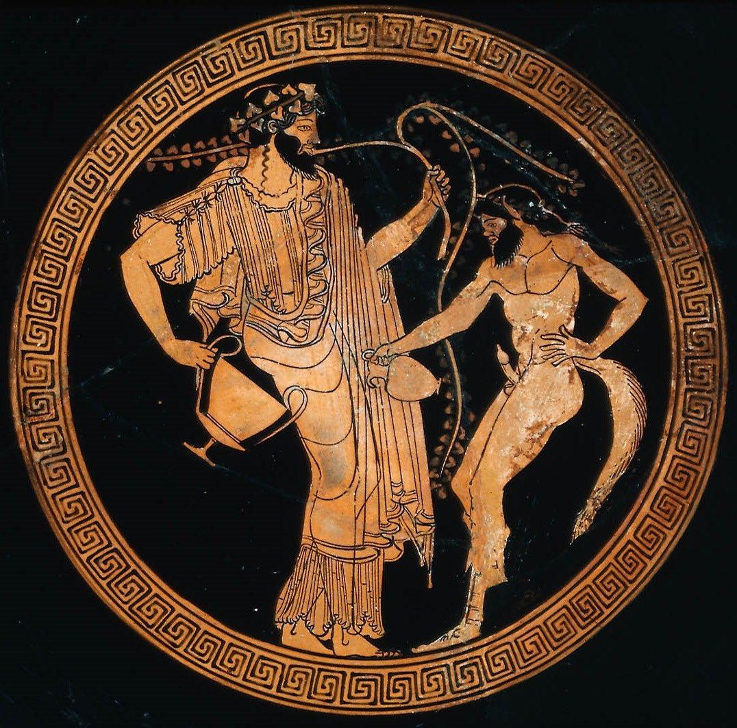 #artegayacasa Dioniso e un satiro, 490-480 a.c., Macrone, arte antica greca #Macrone #anticaGrecia #Dioniso #satiro #arte #ceramica #artegay #omoerotismo #omoerotico #gay @arteomogay @omoerotico  campagna social Artegayacasa promossa da @gayshoppic.twitter.com/6iAYNETRzY
