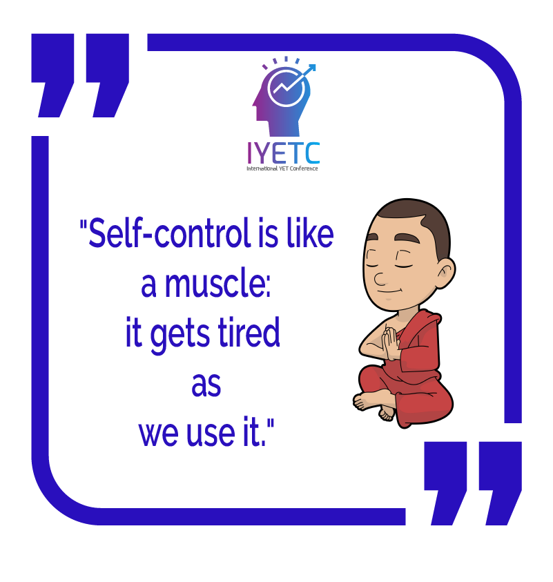 """""""Self-control is like a muscle; it gets tired as we use it.""""  #muscle #use #tired #control #self #like  #entrepreneur #selfesteem #entrepreneurialmindset #youths #youthempowerment #technology #technologydevelopment #international #globalteam #goglobal #youcandoitpic.twitter.com/ItiIg17GCv"""