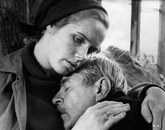"""""""Bazen her şey bir rüyaymış gibi geliyor. Benim gördüğüm bir rüya değil de, rol almak zorunda olduğum, bir başkasının rüyası..""""  Skammen (1968) Ingmar Bergman  #Covid19Outpic.twitter.com/f5gDrvazhW"""