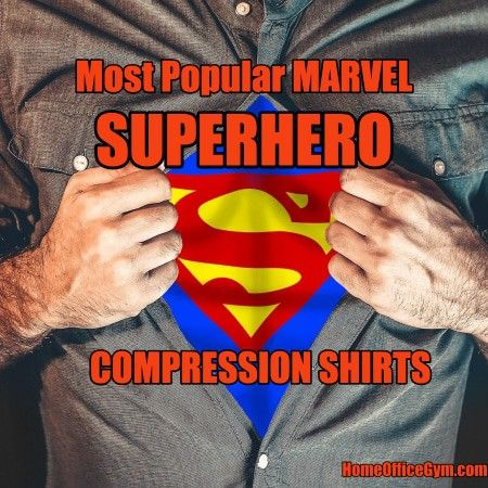 Want to look amazing in the gym? Then go with superhero compression shirts even if you have a beer gut or are slightly lacking in muscle. Cleverly placed musculature helps cover up unsightly curves. 😉 @HomeOfficeGyms #bodybuilding #fitness #training