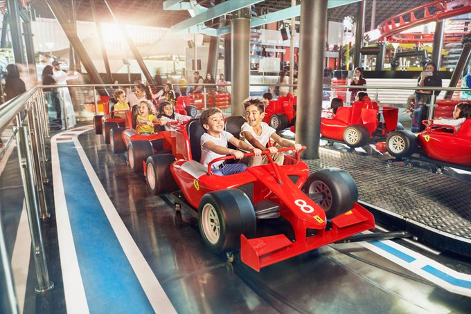 Since opening, Ferrari World Abu Dhabi has been recognized by several leading industry awards. Most recently, the theme park was named 'World's Leading Theme Park' at the World Travel Awards 2019.   For more information, please visit: http://ow.ly/brWW50z34qNpic.twitter.com/DItpx0GlUI