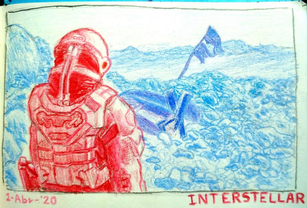 So yeh, I kinda love Interstellar #ink #art #arte #dibujo #dibujos #draw #drawings #drawing #dibujar #blue #aesthetic #universe #artstyle #cool #retro #pastel #aestheticblue #space #retrofuturistic #isolation #nostalgic #sad #planet #astronomia #astronomy #interstellar #sketch