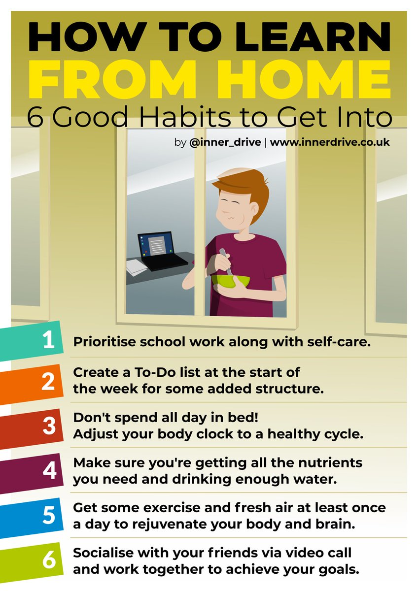 Good morning all! A few tips to help you stay motivated via @Inner_Drive