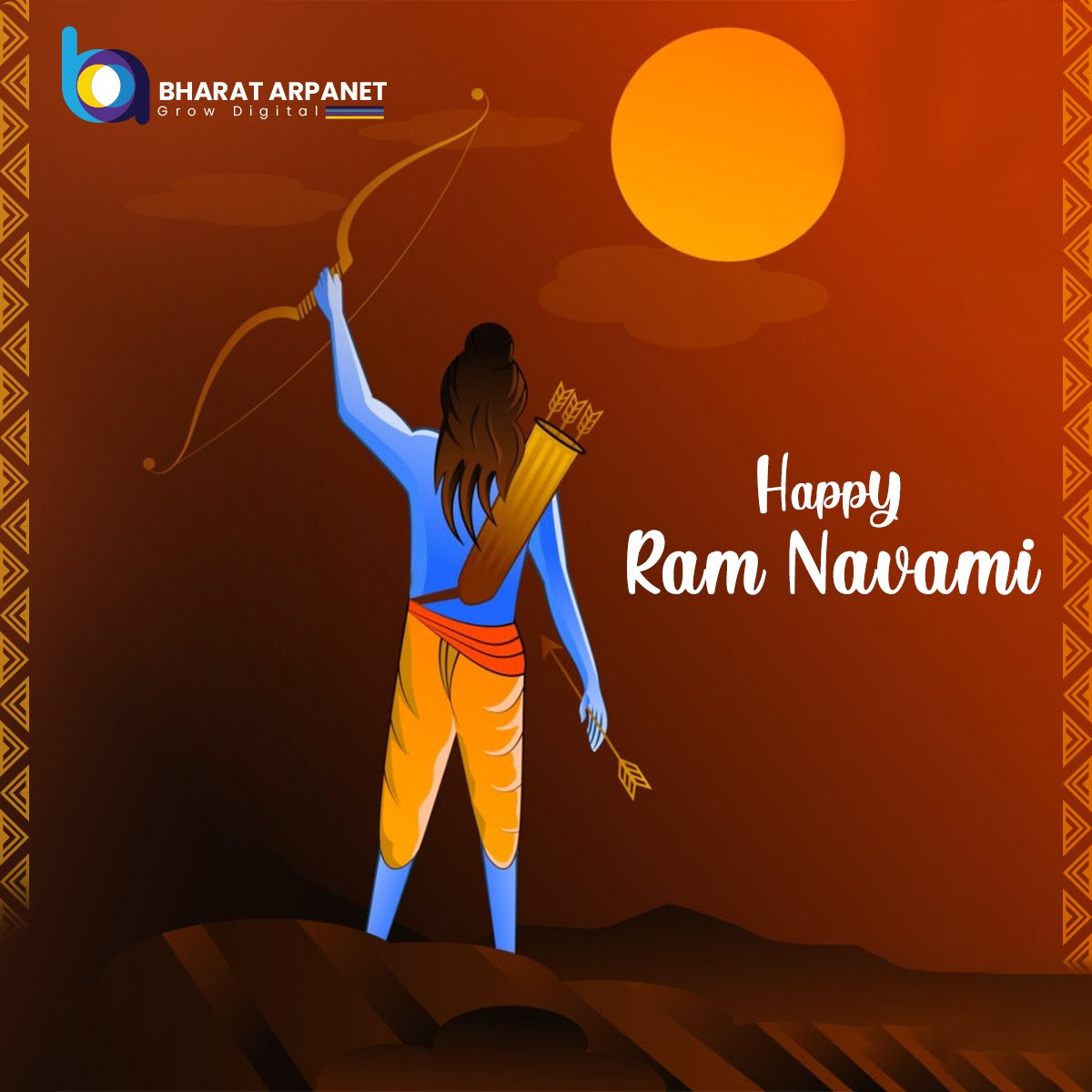 May the divine grace of Lord Rama always be with you. Wish you a very happy and prosperous Rama Navami.  #RamNavami #Jaimatadi #श्रीरामनवमी #रामनवमी_की_हार्दिक_शुभकामनाएं #BharatArpanet https://t.co/f3kqYwYu0B