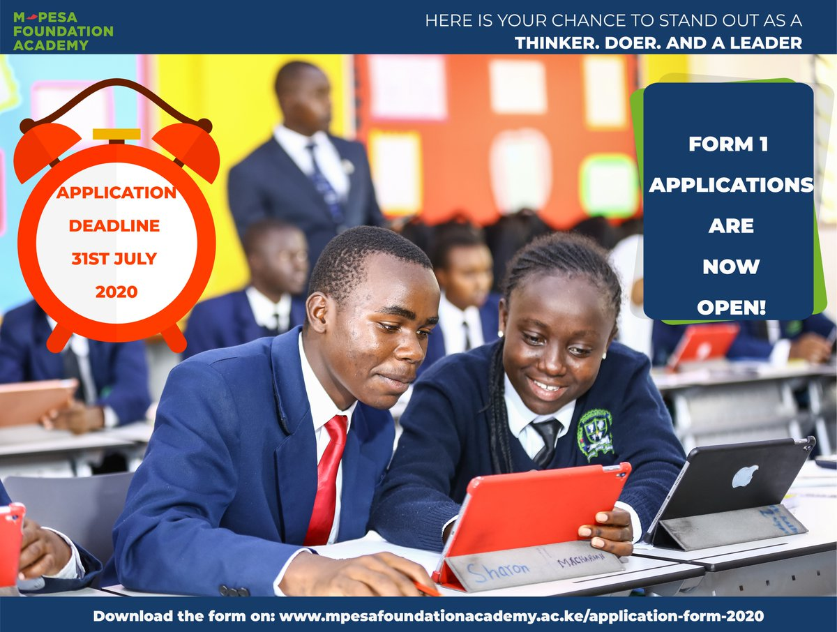 Form 1 Applications are now open download the form on the link below; read through the qualifications and share widely with current class 8 students who meet the criteria for the sponsorship. Get the form on: https://t.co/REBHcnMmOT #Thinkersdoersleaders  #staysafe https://t.co/zuGrglwhAA