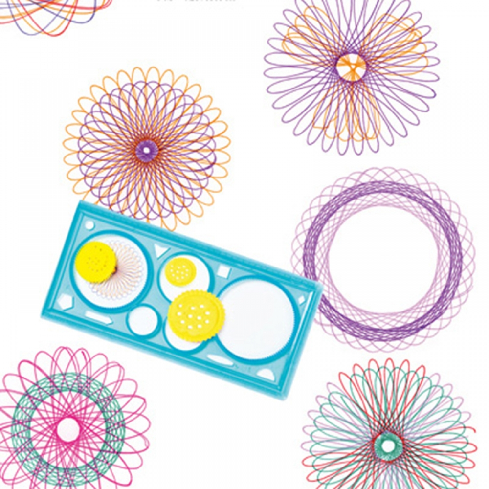 #gamer #tagsforlikes Kid's Early Development Colorful Spirograph
