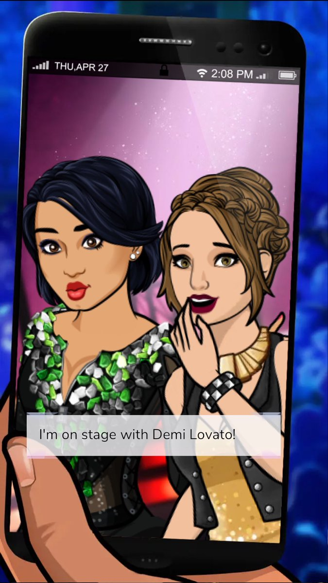 I got a photo on stage with Demi Lovato! #episode #demipathtofame http://bit.ly/EpisodeHerepic.twitter.com/BdXYqRb2nP