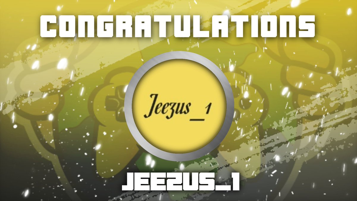 Congratulations to @jeezus_1 on reaching affiliate!! You deserve this! We in Streamers Community Unite are all happy to have helped you on your journey to affiliate! Next stop #partner #affiliate #streamersunite pic.twitter.com/FPAokAyuqf