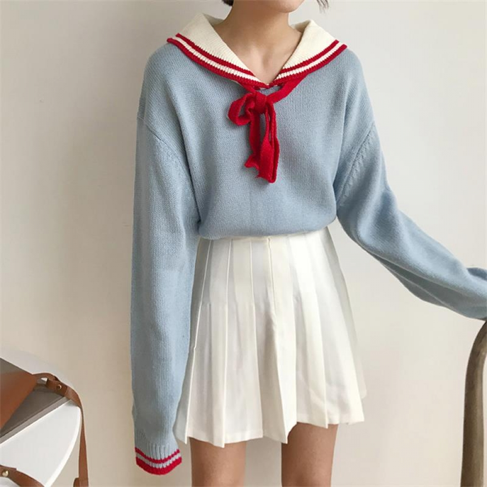 #neko #kawaiigirl #animeworld Kawaii Acrylic Sweater with Turn-Down Collar https://kawaiifair.com/kawaii-acrylic-sweater-with-turn-down-collar/…pic.twitter.com/s7RURo3dXp