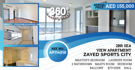 For rent!  Ap114518, Class A! 2BHK apartment in, Zayed Sports City, Abu Dhabi!  Call us for more information: 026592300, Or visit our website: http://www.finehomeint.com #realestatelife #realestatenews #realestatephoto #realestatecoach #realestatehumor #realestateagent pic.twitter.com/KAOTc9Gtth