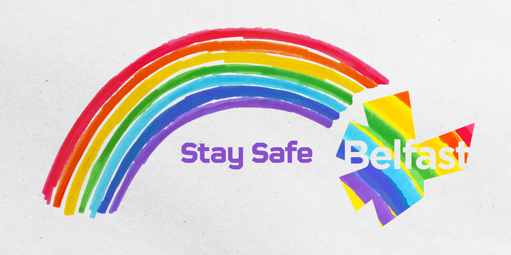 We thought wed inject a little bit of much needed colour into your feed 🌈 We are all in this together. #staysafebelfast #spreadtherainbow